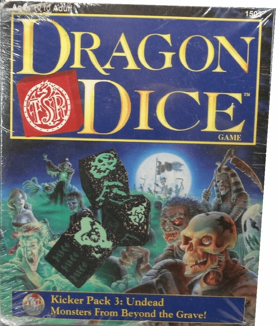 TSR Dragon Dice Kicker Pack 3 Undead