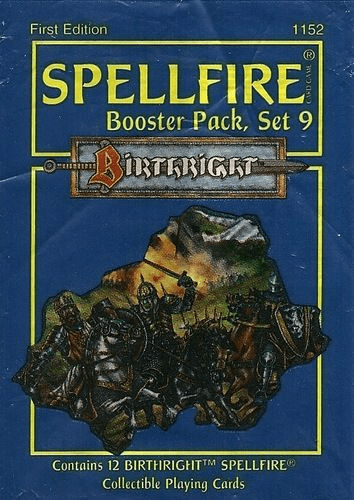 TSR Spellfire Set 9 Birthright Booster Pack