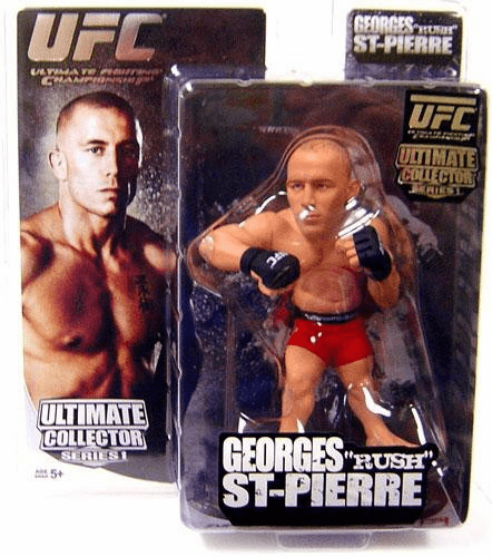UFC Ultimate Collector Series Georges St. Pierre Figure