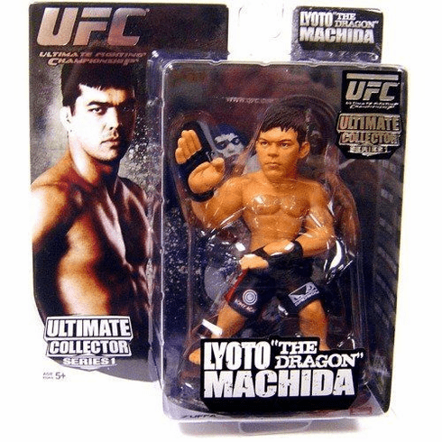 UFC Ultimate Collector Series Lyoto The Dragon Machida Figure