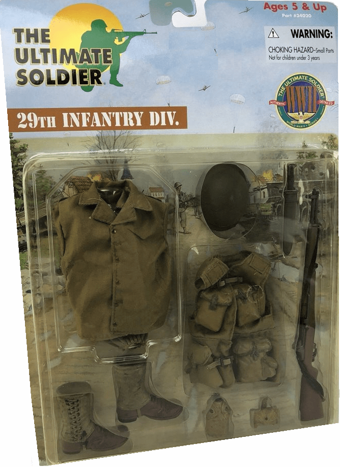 Ultimate Soldier 29th Infantry Division Outfit