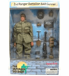 Ultimate Soldier 2nd Ranger Battalion BAR Gunner Figure