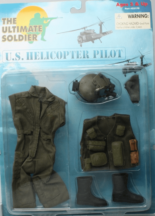 Ultimate Soldier U.S. Helicopter Pilot Outfit