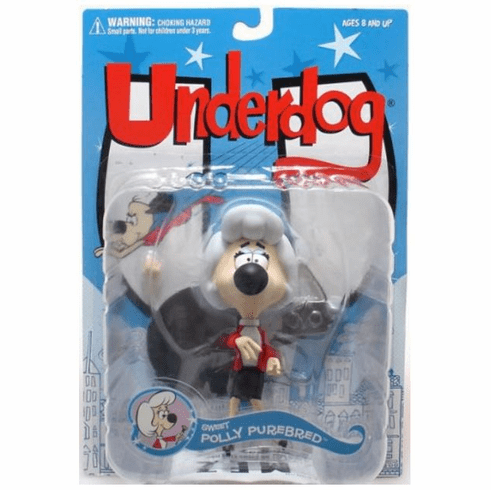 Underdog Sweet Polly Purebred Action Figure