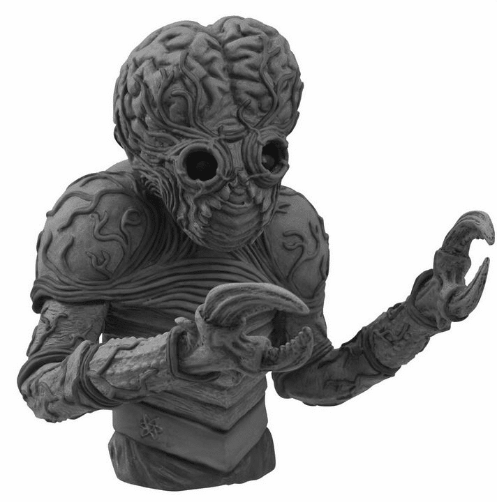 Universal Monsters Black and White Metaluna Mutant Bust Coin Bank