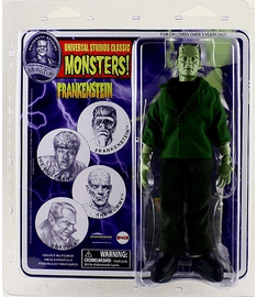 Universal Monsters Retro Cloth Mego Frankenstein Action Figure
