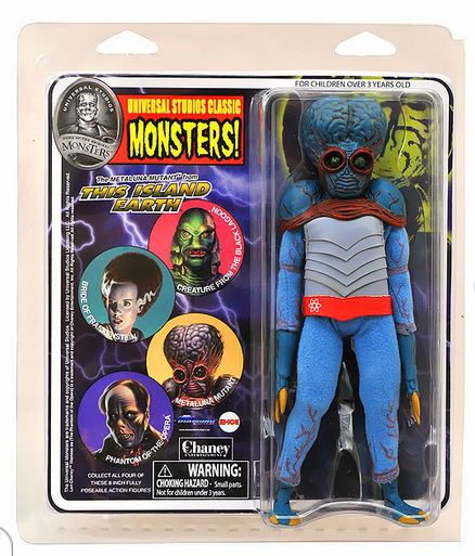 Universal Monsters Retro Cloth Mego Metaluna Mutant Action Figure