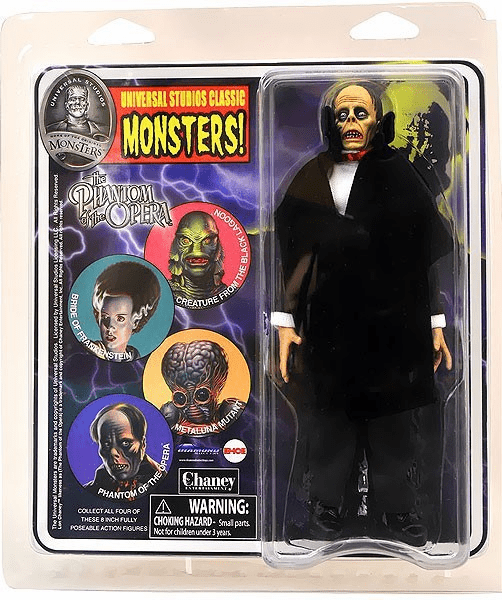 Universal Monsters Retro Cloth Mego Phantom of the Opera Figure