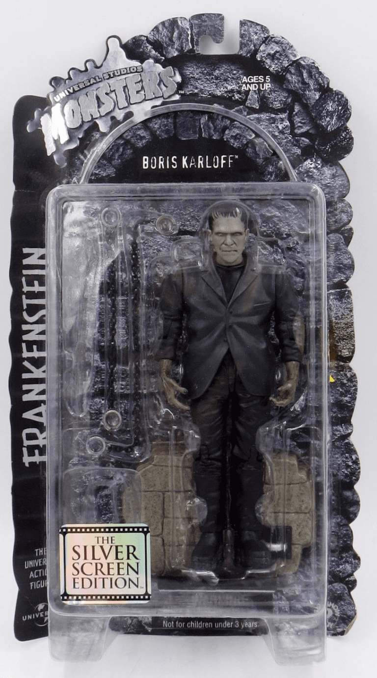Universal Monsters Silver Screen Edition Frankenstein Figure