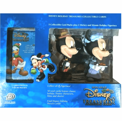 Upper Deck Disney Holiday Treasures Mickey's Christmas Carol Collectible Cards Set