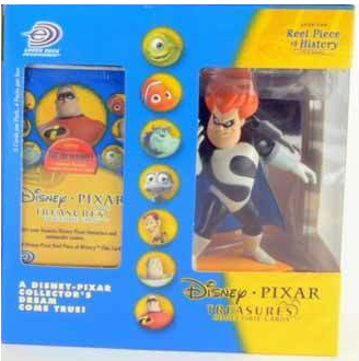 Upper Deck Disney Pixar Treasures The Incredibles! Syndrom Collectible Cards Set