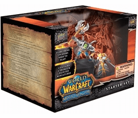 Upper Deck World of Warcraft Miniature Core Set Starter Pack