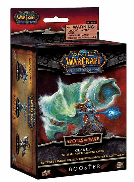 Upper Deck World of Warcraft Spoils of War Booster Pack