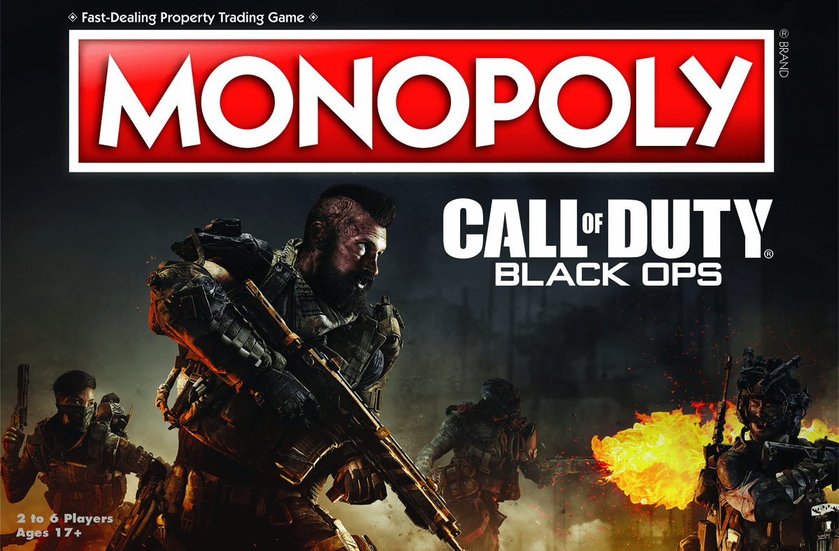 USAopoly Call of Duty Black Ops Monopoly Board Game