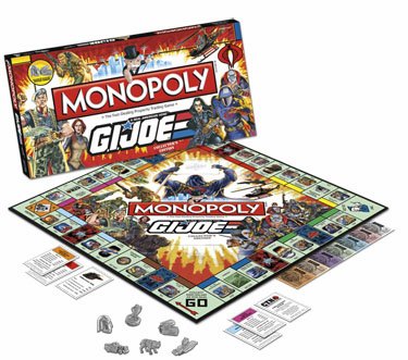 USAopoly G.I. Joe Monopoly Collector's Edition Game