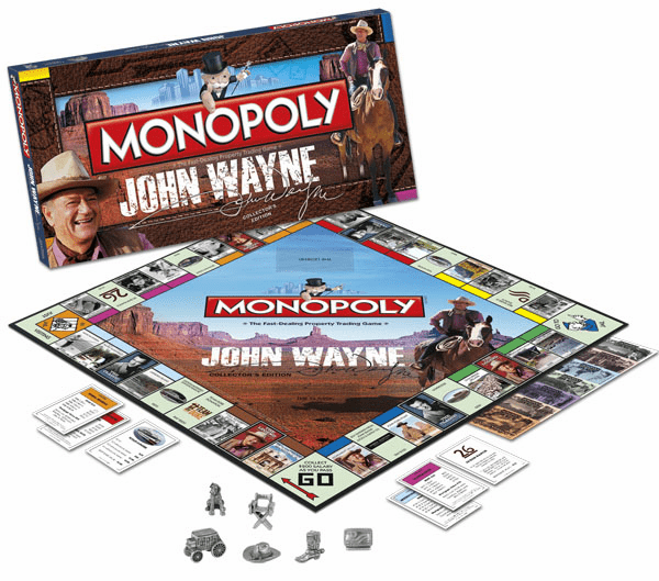 USAopoly John Wayne Monopoly Collector's Edition Board Game