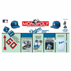 USAopoly Los Angeles Dodgers Monopoly Board Game