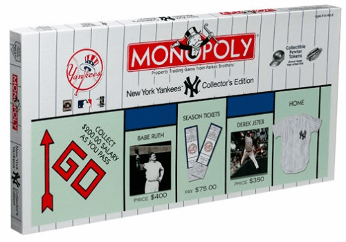 USAopoly New York Yankees Monopoly Board Game