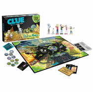 USAopoly Rick and Morty Back in Blackout Clue Board Game