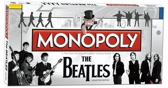 USAopoly The Beatles Collector's Edition Monopoly Board Game