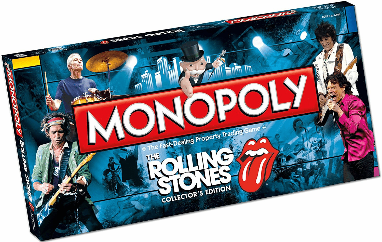 USAopoly The Rolling Stones Collector's Edition Monopoly Board Game