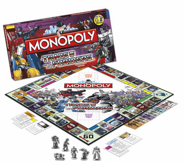 USAopoly Transformers Monopoly Collector's Edition Board Game