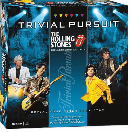 USAopoly Trivial Pursuit The Rolling Stones Collector's Edition