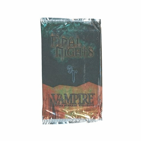 Vampire The Eternal Struggle CCG Final Nights Booster Pack