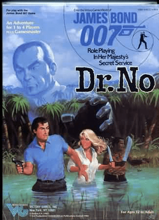 Victory Games James Bond 007 RPG Dr. No Box Set