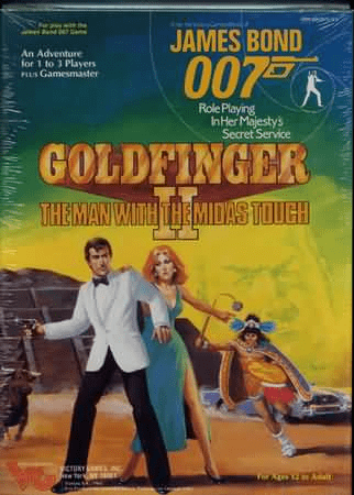 Victory Games James Bond 007 RPG Goldfinger II Box Set