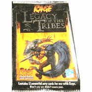 Werewolf The Apocalypse Rage Legacy of the Tribes Booster Pack