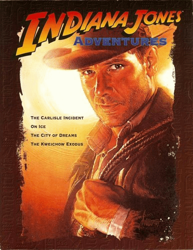 West End Games Indiana Jones Adventures RPG Book