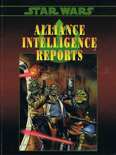 West End Games Star Wars Alliance Intelligence Reports RPG Book