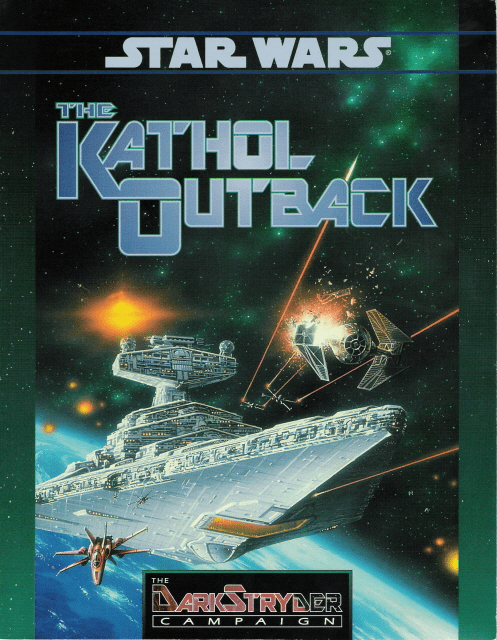 West End Games Star Wars DarkStryder Campaign The Kathol Outback RPG