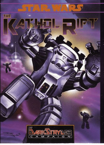 West End Games Star Wars DarkStryder Campaign The Kathol Rift RPG Book