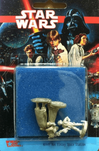 West End Games Star Wars Miniature Mos Eisley Space Station Pack