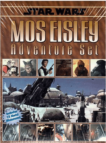 West End Games Star Wars Mos Eisley Adventure Set