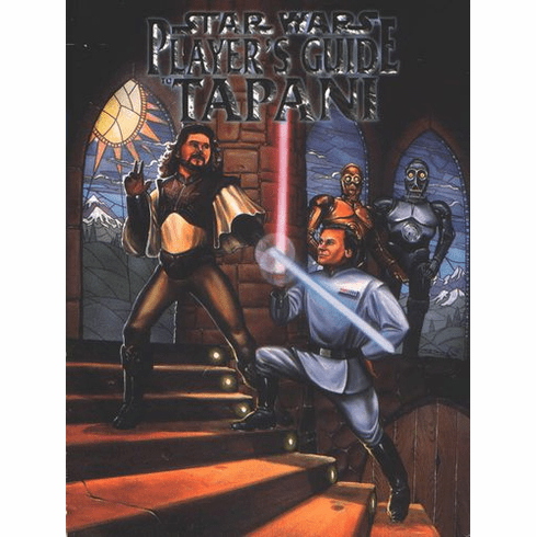 West End Games Star Wars Player's Guide to Tapani RPG Book