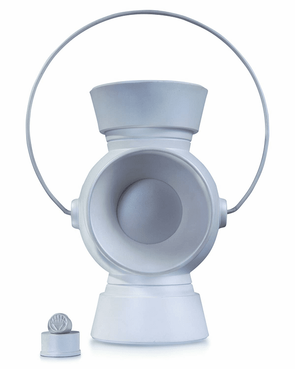 White Lantern Power Battery with Ring 1:1 Scale Replica Prop