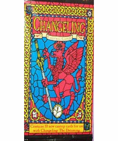 White Wolf Changeling The Dreaming Cantrip Cards Pack