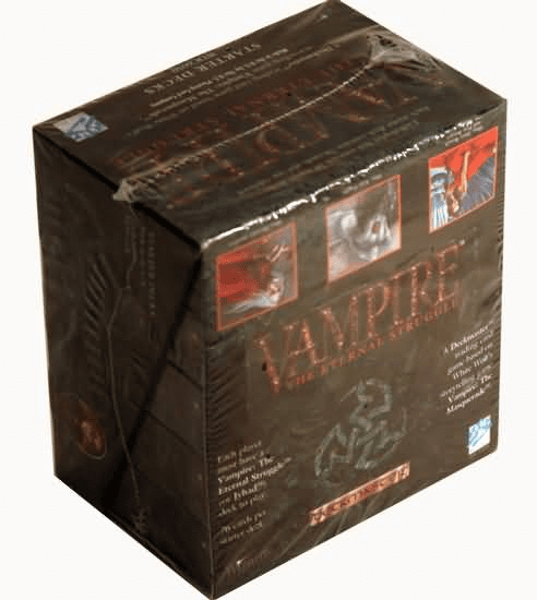 White Wolf Vampire The Eternal Struggle CCG Starter Deck Case