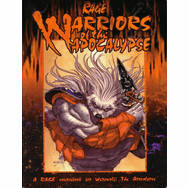 White Wolf Werewolf The Apocalypse Rage Warriors of the Apocalypse Sourcebook