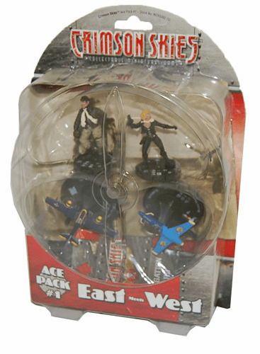 Wizkids Crimson Skies Ace Pack #1 East Meets West Miniature Set