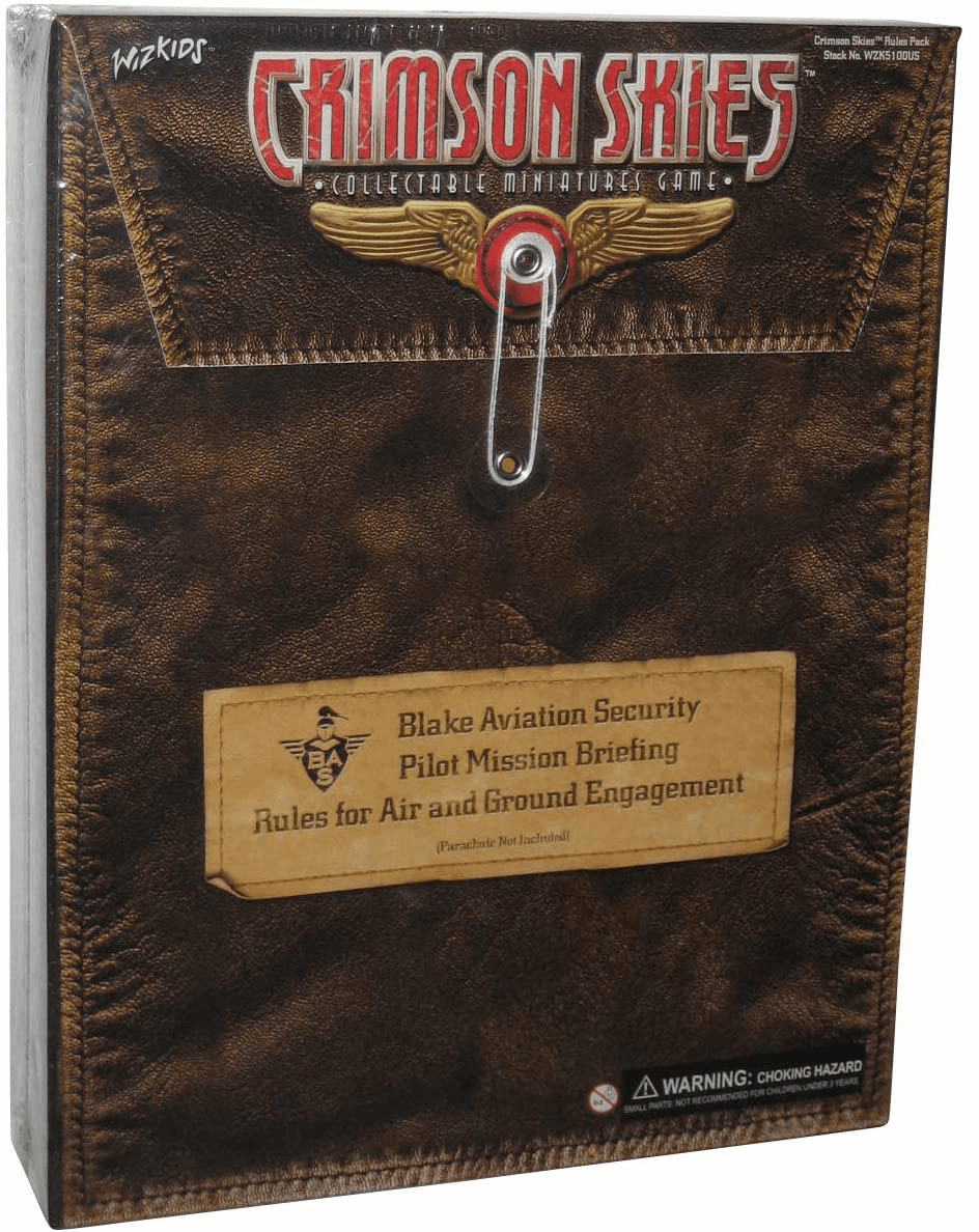 Wizkids Crimson Skies Rules Pack