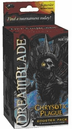 Wizkids Dreamblade Chrysotic Plague Booster Pack