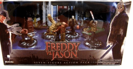 WizKids HeroClix Freddy vs. Jason Box Set