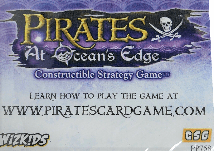 Wizkids Pirates at Ocean's Edge Constructible Strategy Game Promo Pack