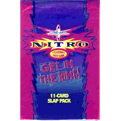 World Championship Wrestling Nitro Trading Card Game Booster Pack