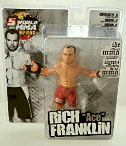 World of MMA Champions 2 Rich Ace Franklin Figure