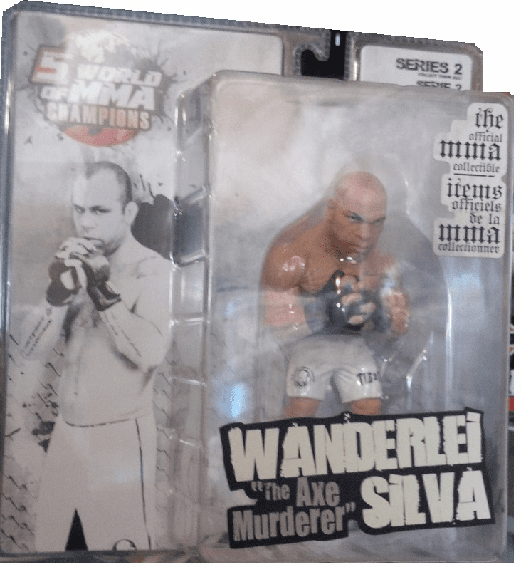 World of MMA Champions 2 Wanderlei Silva Figure